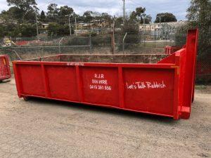 skip bin hire & rubbish removal near Research